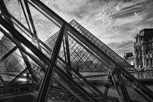 Chuck Kuhn - The Louvre IV