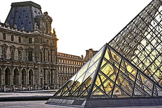 Chuck Kuhn - The Louvre Museum