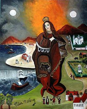 The Madona by Pilar  Martinez-Byrne