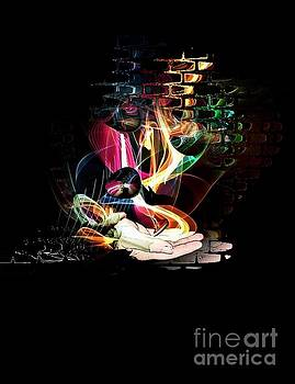 The magic hand of the artist by Nico Bielow by Nico Bielow