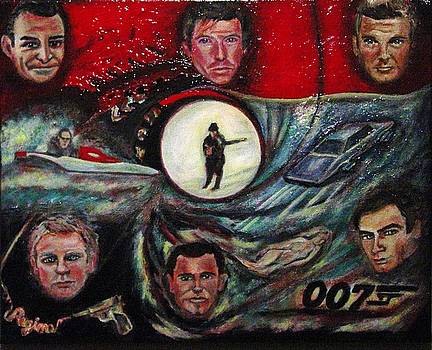 Regina Brandt - The Many Faces of Bond...James Bond