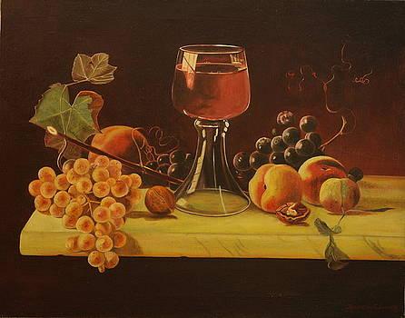 The Marble Table by Rosencruz  Sumera
