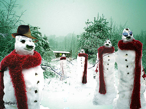 The March of the Snowmen by Seth Weaver