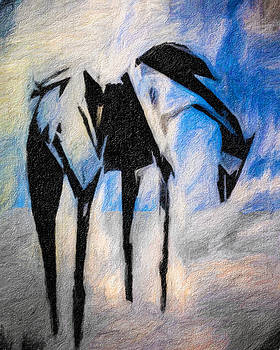 The Mare at Blue Water by Terry Fiala
