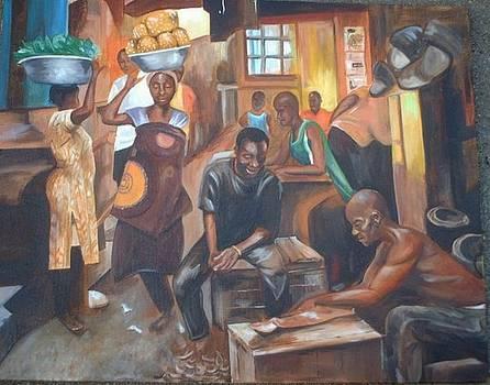 The Market by Gwendolyn Frazier