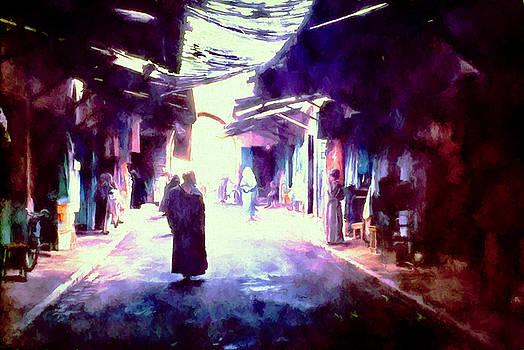 Cindy Boyd - The Market in Marrakech