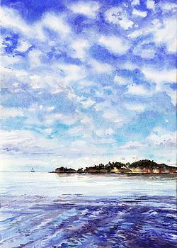 The Med, Southern France by Sarah Kovin Snyder