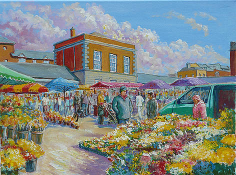 The Milk Market Limerick Ireland by Tomas OMaoldomhnaigh