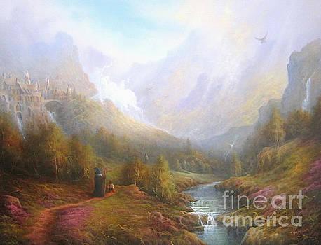 The Misty Mountains by Joe  Gilronan