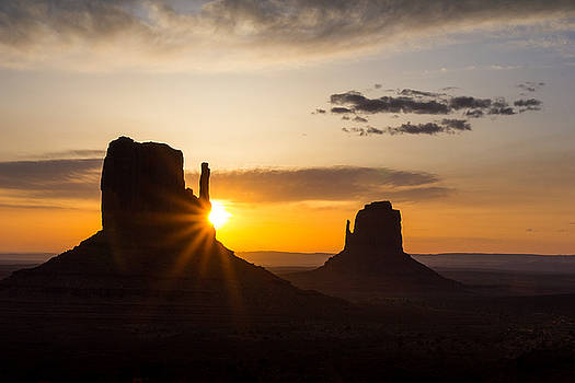 The Mittens at Sunrise by Penny Meyers