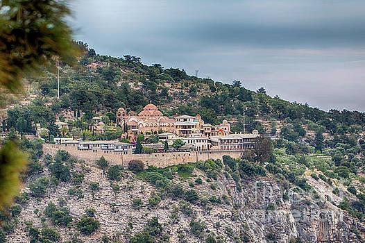 The Monastery of Archangel Michael, Thasos, Greece by Jivko Nakev