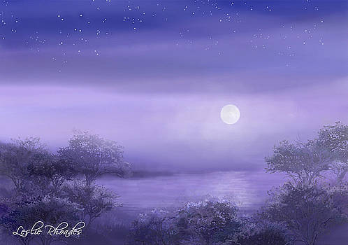 Leslie Rhoades - The Moon Will Set