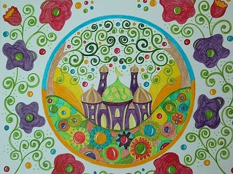 The mosque  by Jilly Curtis