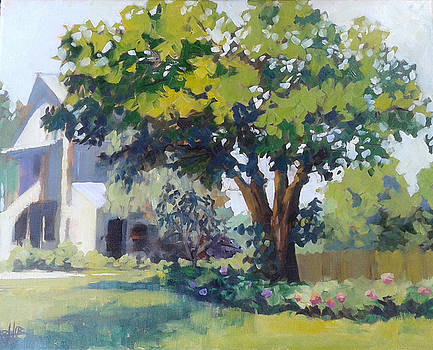 The Mulberry Tree at Stonycreek Farm by Azhir Fine Art