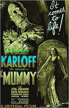 The Mummy Movie Poster 1932 by Joy McKenzie