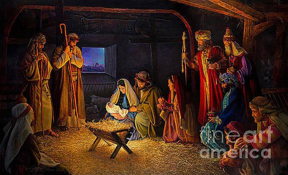 The Nativity by Greg Olsen