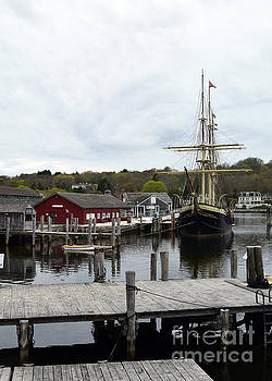 The New England Landscape by Leslie M Browning