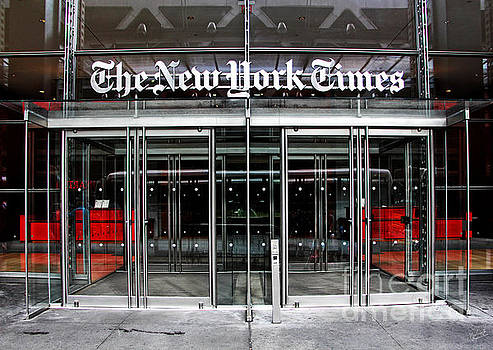 The New York Times Building by Nishanth Gopinathan