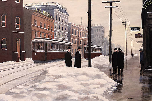 The Newspapermen by Dave Rheaume