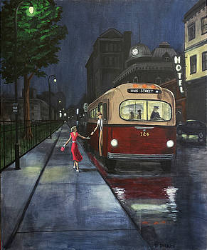 The Night Bus by Dave Rheaume