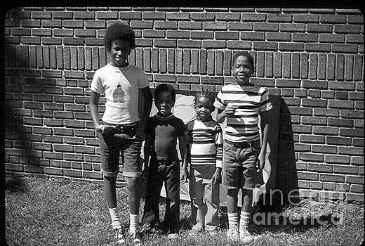 The Oak Street Kids, 1980 by Walter Oliver Neal