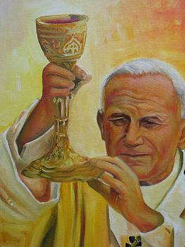 The offering Pope John Paul 2 by Todd  Gates