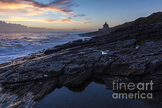 The Old Bath House, Cullernose Point. by John Cox