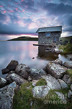 The Old Boathouse at Devoke Water, Lake District. by Martin Williams