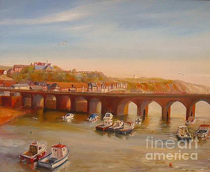 Beatrice Cloake - The Old bridge - Folkestone harbour