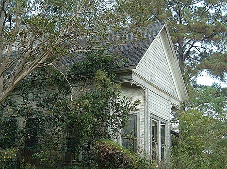 The old house by Cindy Hudson