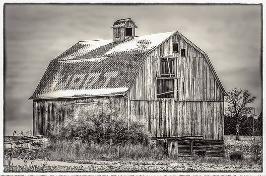 LeeAnn McLaneGoetz McLaneGoetzStudioLLCcom - The old Red Barn Black and White