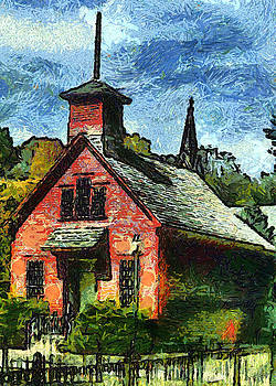 The Old Schoolhouse by Darrell Foltz