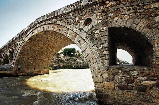 The old stone bridge in Prizren by Bleron Caka