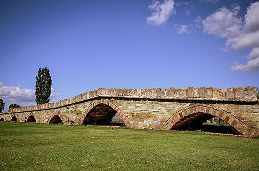 The old stone bridge in Vushtrri by Arbenllapashtica
