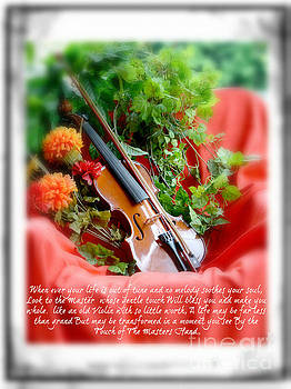 The Old Violin  by Lila Fisher-Wenzel