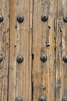 The Old Wood Church Door by Jim Walls PhotoArtist