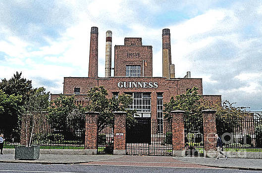 The Original Guinness Brewery Dublin  by Tom Wurl