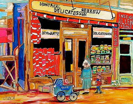 The Original Schwartz's by Michael Litvack