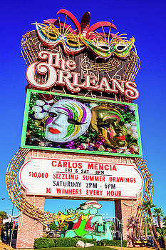 The Orleans Casino Sign by Aloha Art