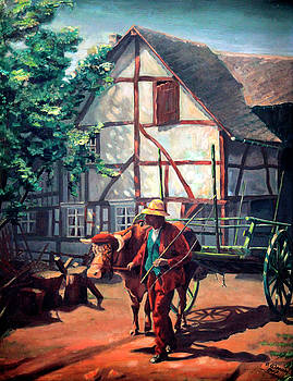 Otto Werner - The Ox Cart