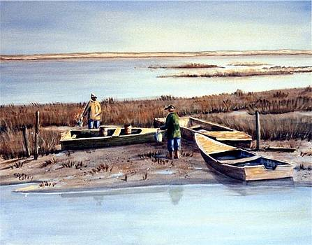 The Oyster Men by Sue Coley