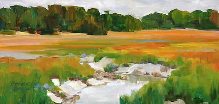 The Painted Marsh by Barbara Benedict Jones