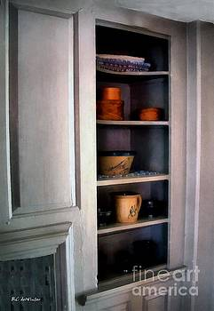 The Painted Pine Cupboard by RC deWinter