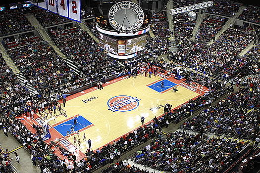 The Palace of Auburn Hills Michigan Detroit Pistons by Brian Sevald