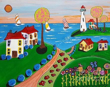 The Path to the Beach by Karleen Kareem