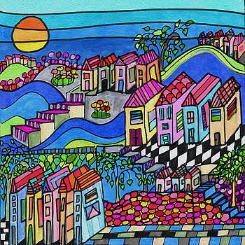 The Patio by Dora Ficher