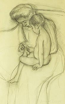 Mary Stevenson Cassatt - The Pedicure