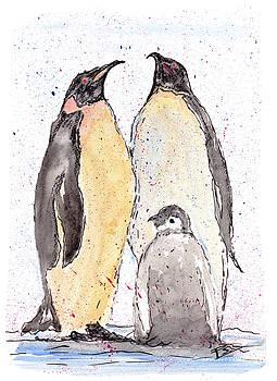 The Penguin Family by Peter Stevenson