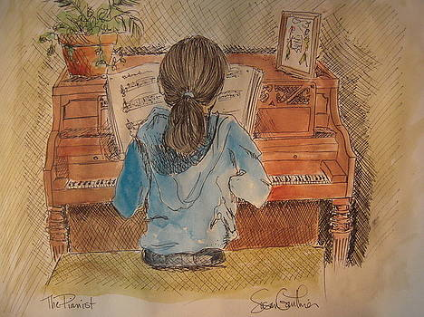 The Pianist by Susan Gauthier