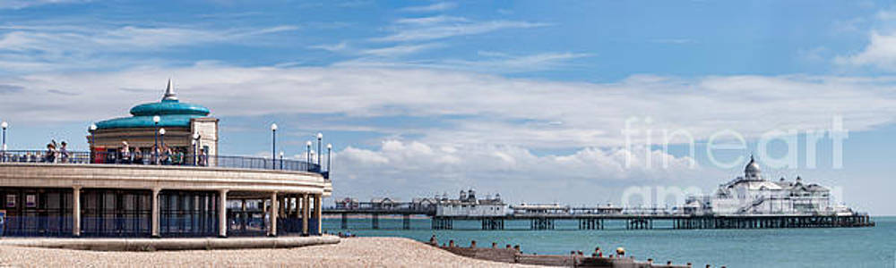 The Pier and Bandstand Eastbourne by Ann Garrett